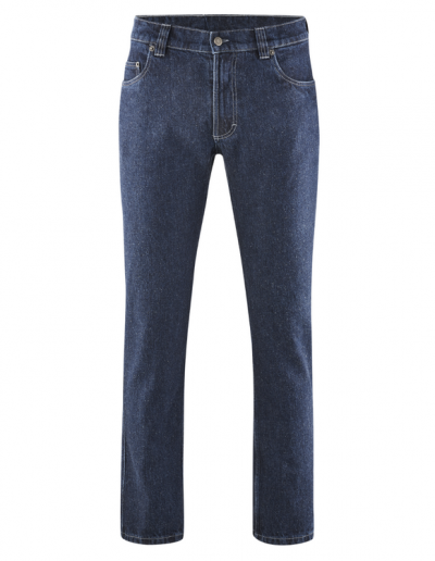 HempAge, Blue Denim Jeans, robuste 5-pocket-Jeans,