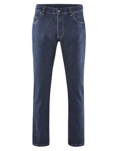 HempAge, Blue Denim Jeans, robuste 5-pocket-Jeans,